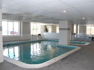 indoor pool at Harbour Manison